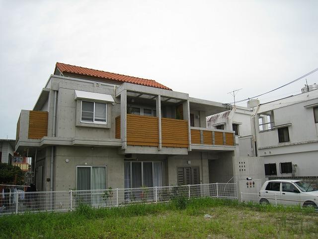 石嶺の二世帯住宅